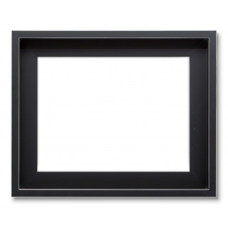Abstract Noir filet platine format 00
